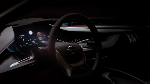 Opel dashboard projection mapping